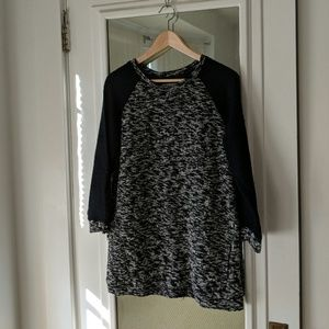 Lucky Lotus by Lucky Brand Speckled Tunic Sweater